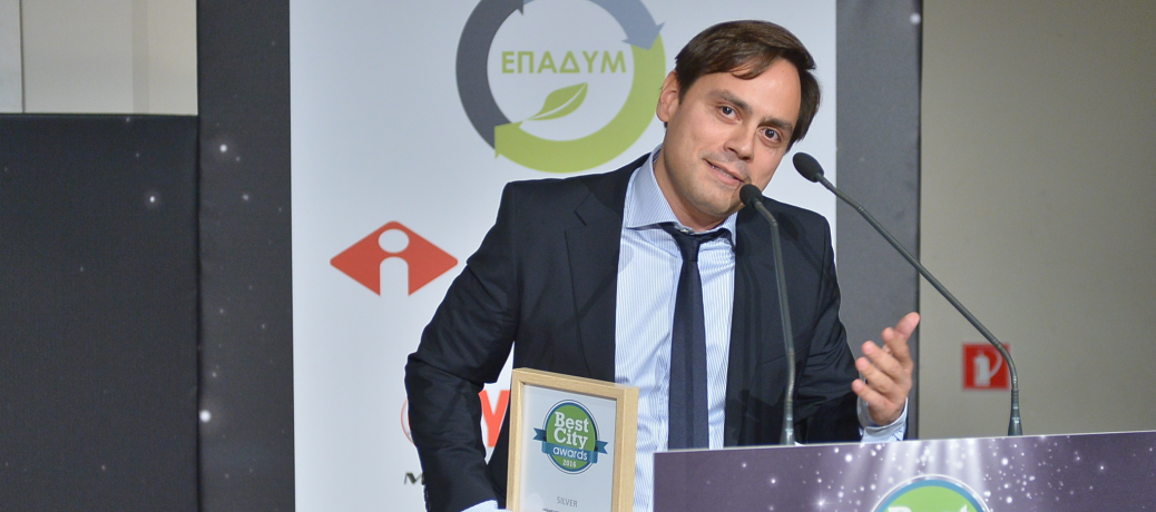 Βραβείο καινοτομίας για το «Haidari-Agenda» του Βαγγέλη Ντηνιακού