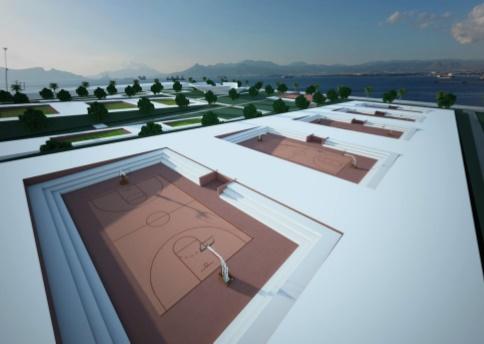 Γήπεδα μπάσκετ